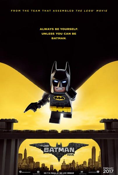 Lego Batman - nouvelle affiche