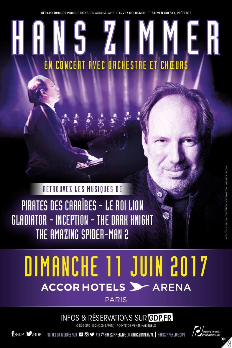 concert hotel arena paris