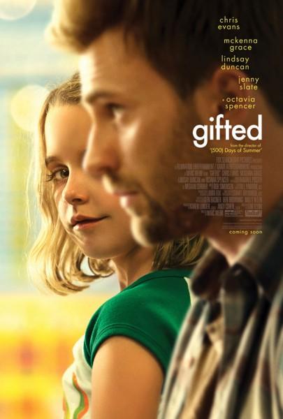 Gifted une affiche et un trailer pour le prochain film de Chris Evans