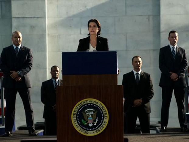 Les femmes présidente au cinéma et TV  - lanford