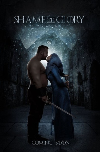 Shame or Glory pub game of thrones bisous septa the mountain
