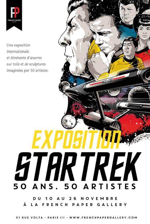 star-trek-50-ans-50-artistes-expo-affiche