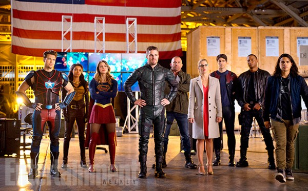 Arrow, The Flash, Supergirl... Des détails sur le crossover