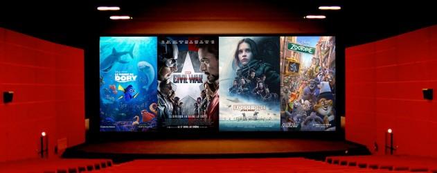 Box office mondial disney grand champion des films les plus rentables de 2016 brain damaged - Box office cinema mondial ...