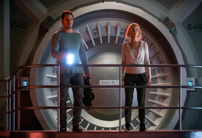 passengers Chris Pratt Jennifer lawrence