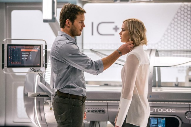 passengers Chris Pratt jennifer lawrence critique