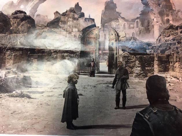Game of Thrones saison 7 Concept art daenerys jon Snow