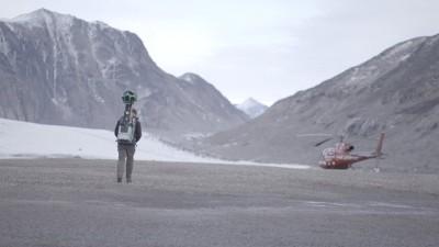 Nicolaj Coster-Waldau au Groenland pour Google Street View