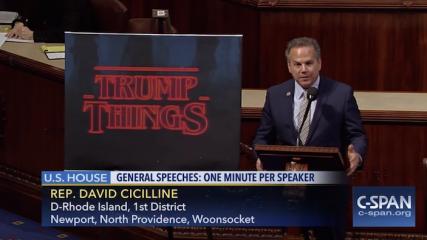 stranger Things s'imisce dans le parlement américain
