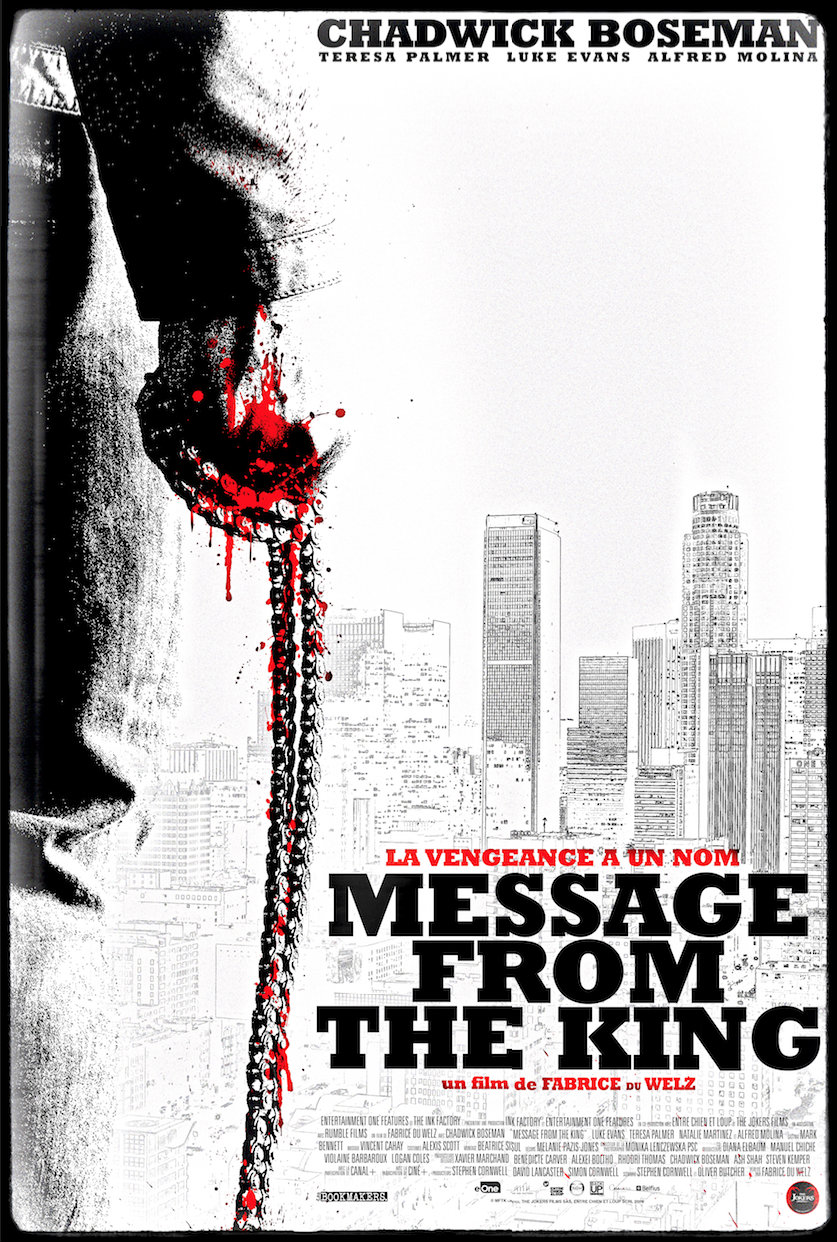 message-from-the-king-Affiche-Teaser