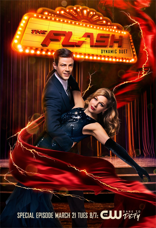 the-flash-saison-3-featurette-et-affiche-du-musical-avec-supergirl