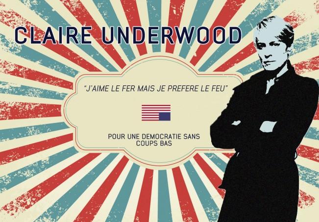 Brain-Présidentielle-affiche-claire-underwood-propa