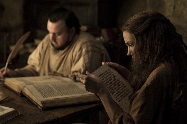 Game of Thrones saison 7 Sam et Gilly