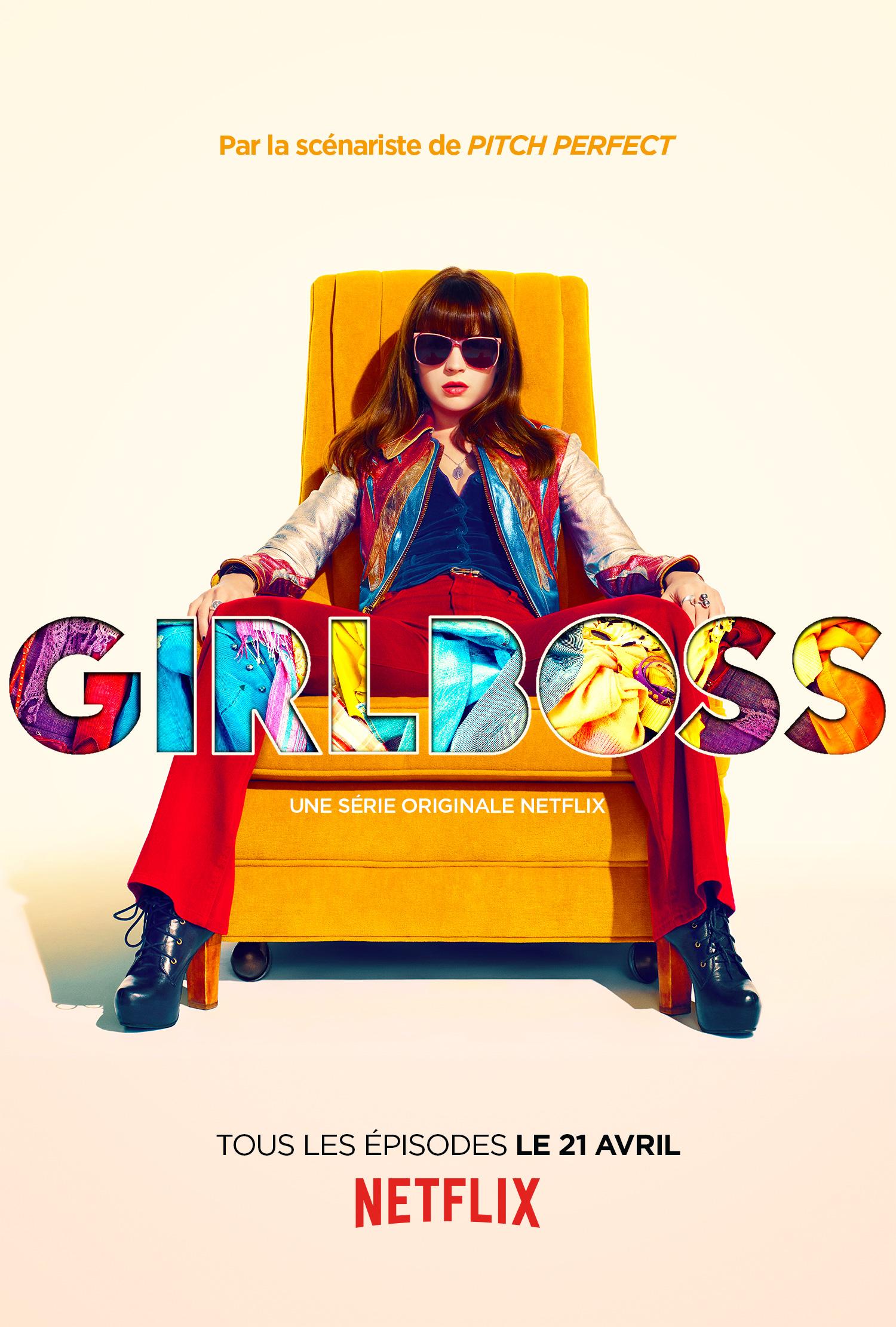 GirlBoss_FRA-affiche