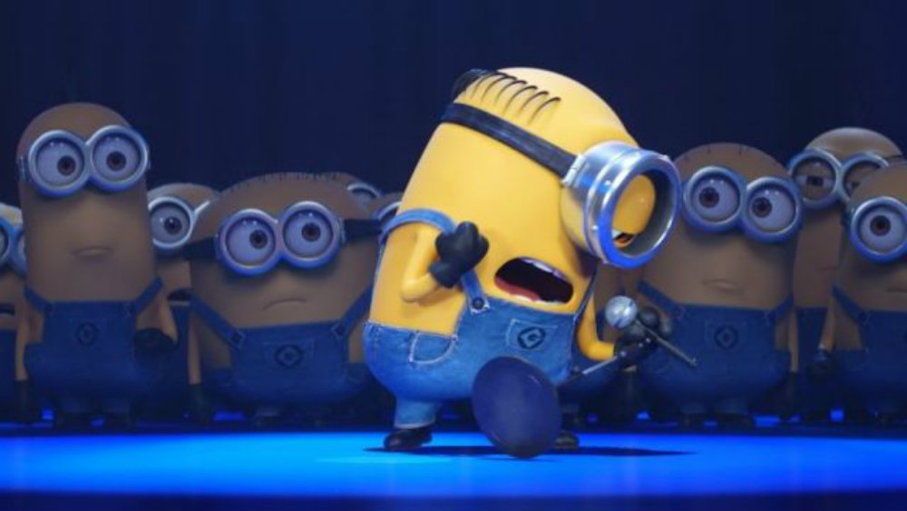 Moi moche et m chant 3 les minions chantent en extrait brain damaged - Mechant minion ...