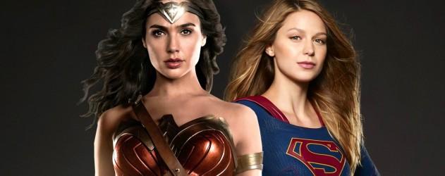 Découvrez une promo croisée pour Wonder Woman et Supergirl avec Lynda  Carter et Teri Hatcher. Alors que Supergirl vient tout juste de finir sa  saison 2,