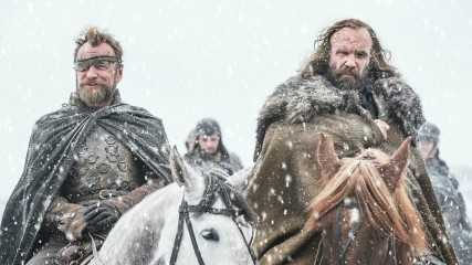 Game of Thrones - Beric et le Limier