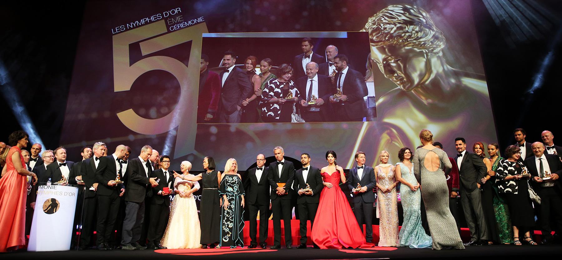 57ème Festival de la Télévision de Monte-Carlo : le Palmarès