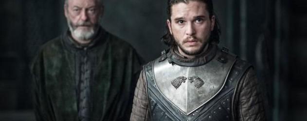 Game of Thrones saison 7 épisode 3 - Jon et Davos devant Daenerys