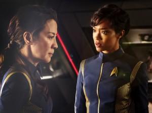 Star Trek Discovery -  Michelle Yeoh et Sonequa Martin-Green