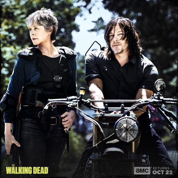 The Walking Dead Saison 8 - Daryl et Carol