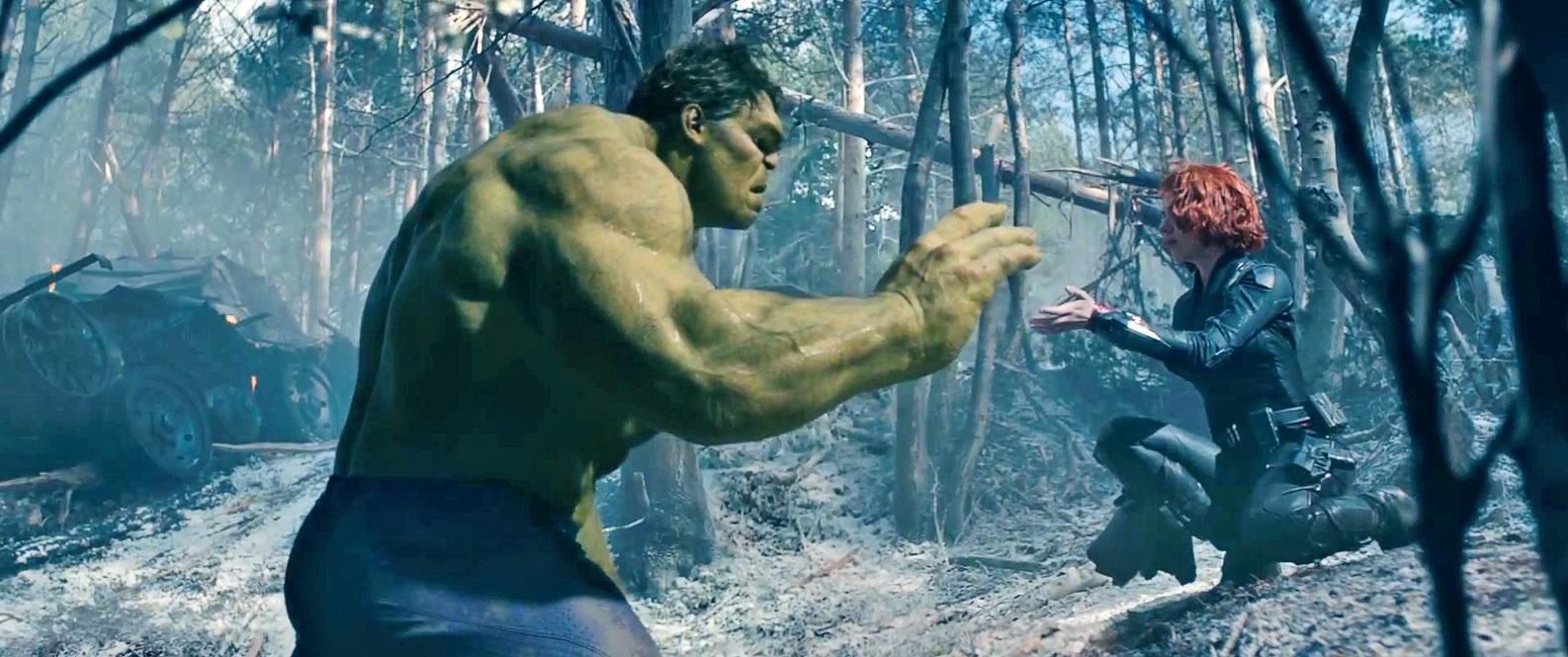Avengers infinity war sc ne d vastatrice avec hulk et - Natacha avenger ...