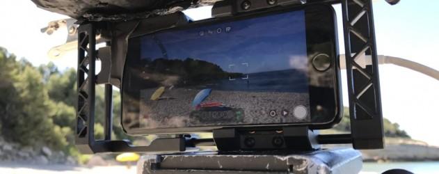 michel gondry réalise un film à l'iPhone