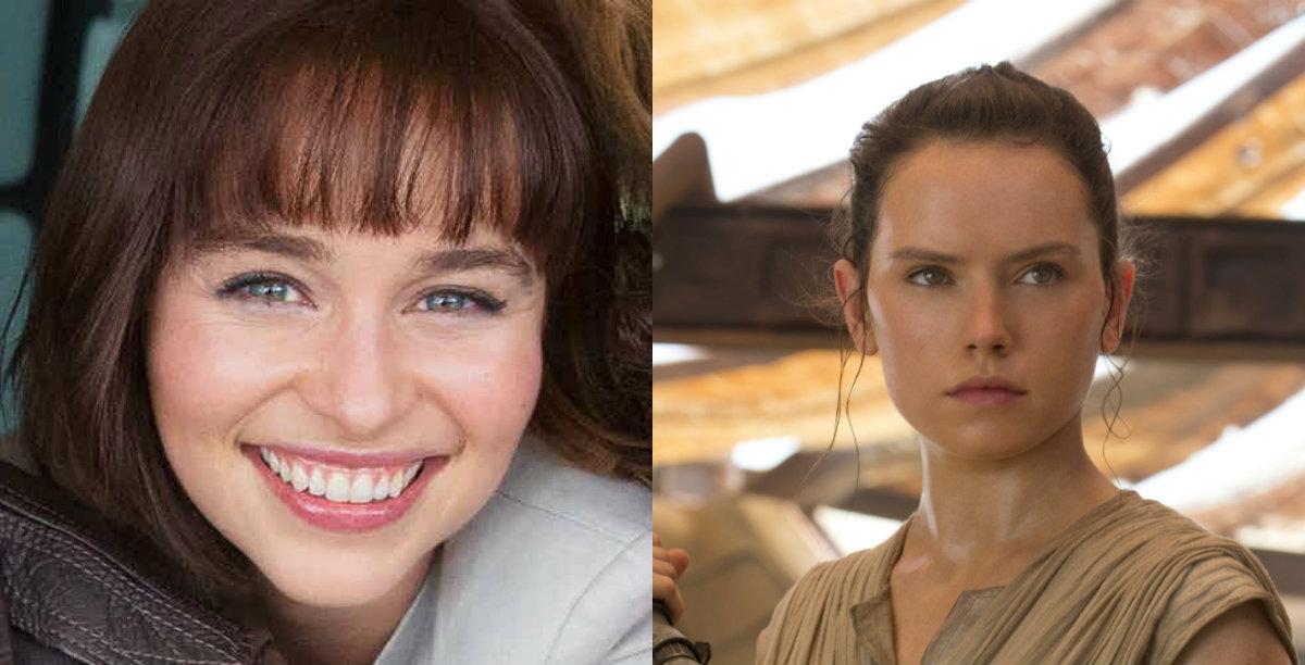 Star Wars : Emilia Clarke est-elle la mère de Rey dans le