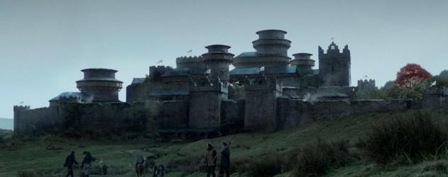 Winterfell game of thrones - changement de decor pour le chateau des stark