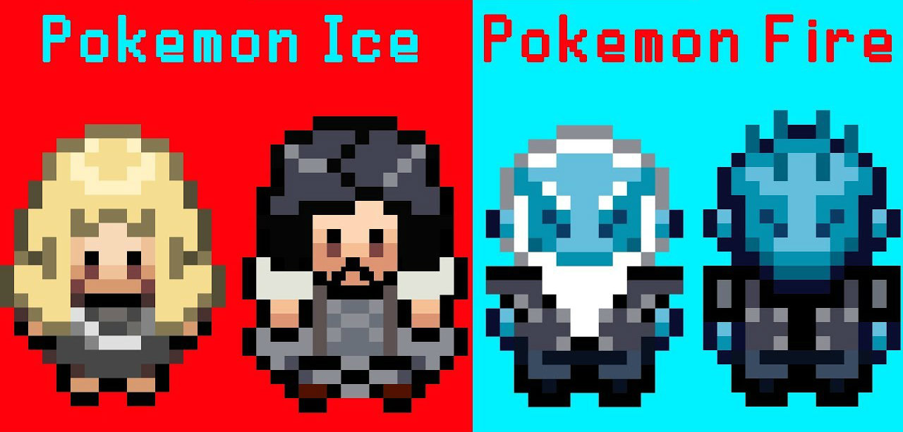Game of thrones la saison 7 version 8 bit fa on pok mon for 7 a la maison saison 8