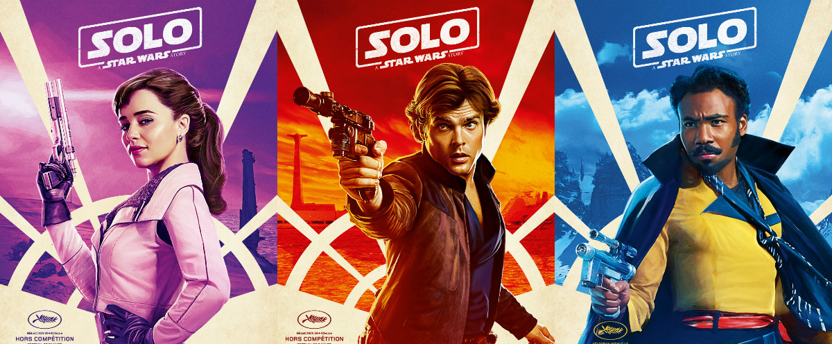 Solo a star wars story nouvelles affiches personnages brain damaged - Personnage star wars 6 ...