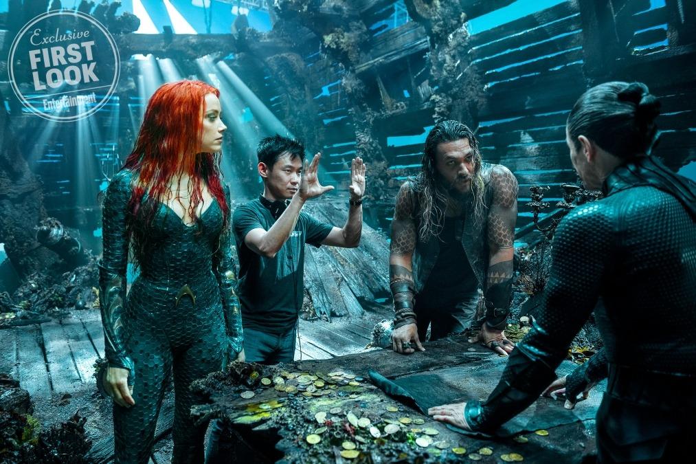 Trailer confirmé pour le Comic Con et nouvelle image aquatique — Aquaman