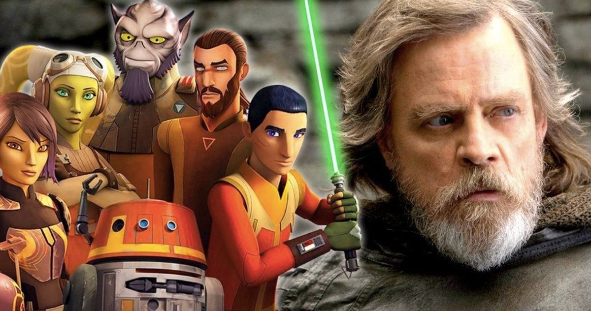 Star wars 9 luke en quipe avec un personnage de star wars rebels brain damaged - Personnage de starwars ...