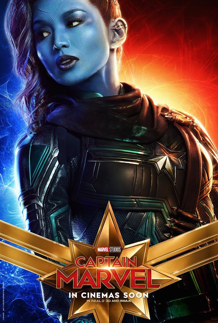Aladdin Movie Poster Captain Marvel : 10 pe...