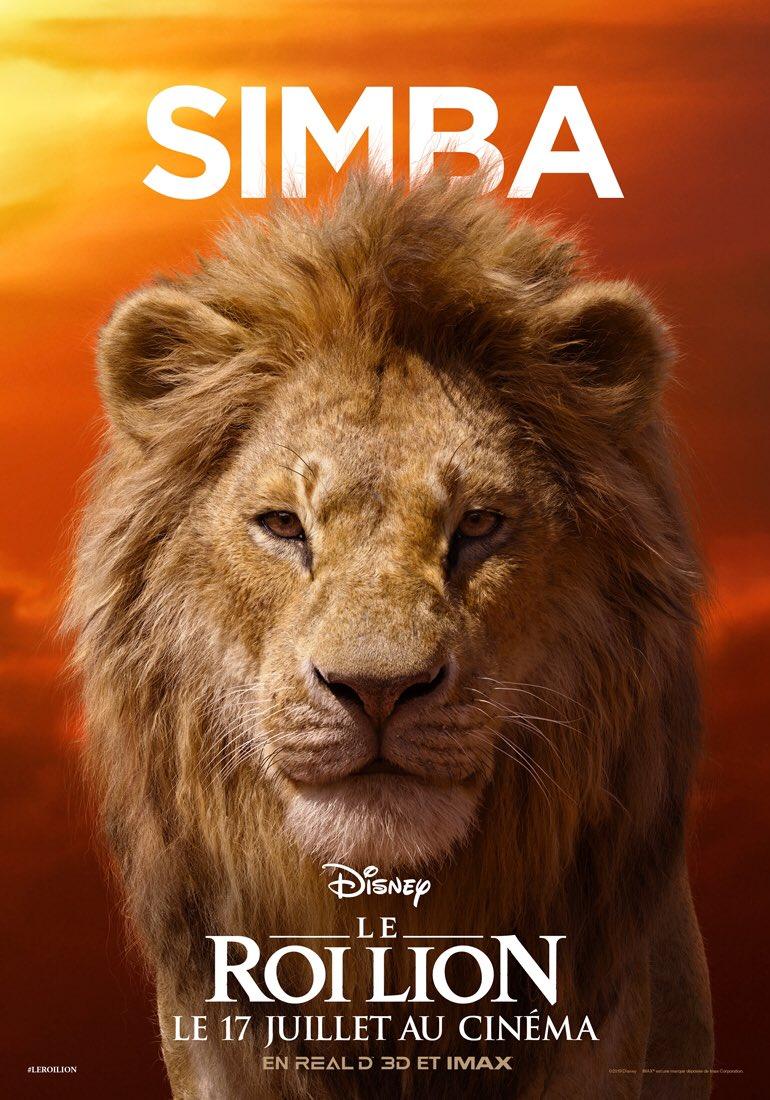 Le Roi Lion Les Personnages En Affiches Brain Damaged
