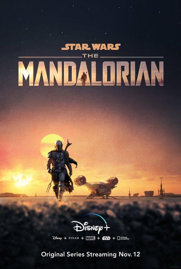 Star Wars: The Mandalorian The-mandalorian-affiche