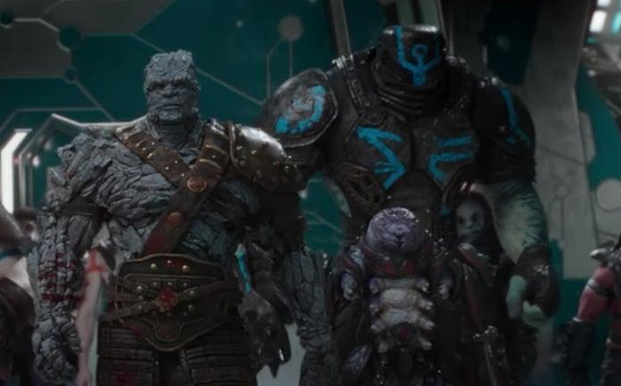 Avengers Endgame : Créature non-identifiée à New Asgard ...