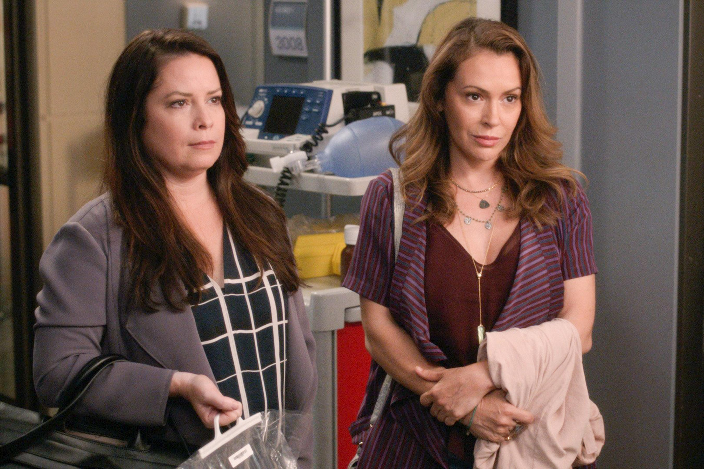 Alyssa Milano et Holly Marie Combs de retour dans Grey's Anatomy