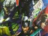 Thor 3 Ragnarok : Affiche artwork avec Hulk Gladiateur